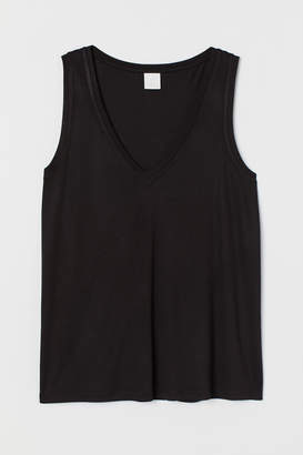 H&M V-neck jersey top
