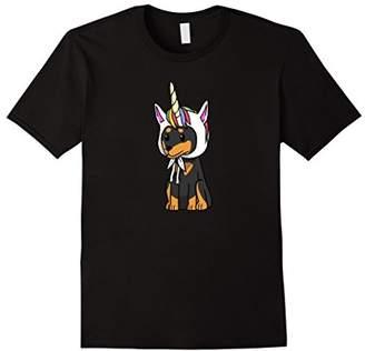 Mini A Ture Unicorn Miniature Pinscher T-Shirt Funny Min Pin Dog Shirt