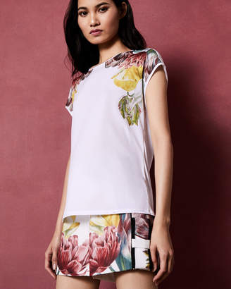 Ted Baker ANEE Tranquility woven T-shirt