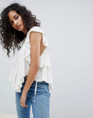 Free People tiny bells tank top