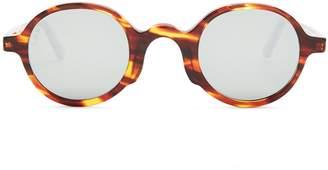 L.G.R SUNGLASSSES George round-frame acetate sunglasses