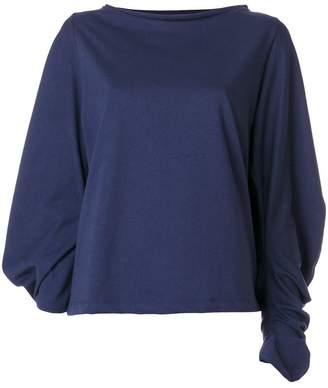 Societe Anonyme puff sleeve top