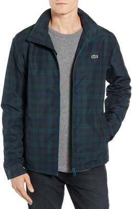 Lacoste Regular Fit Check Windbreaker Jacket