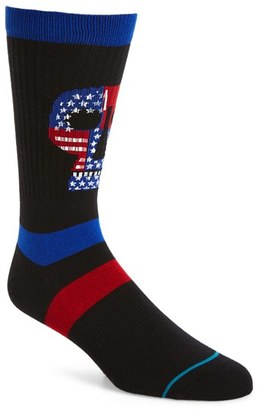 Men's Stance Freedom Heads Classic Crew Socks $12 thestylecure.com