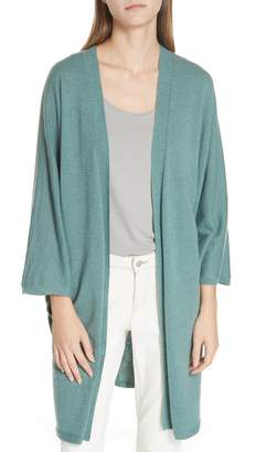 Eileen Fisher Long Cashmere Cardigan