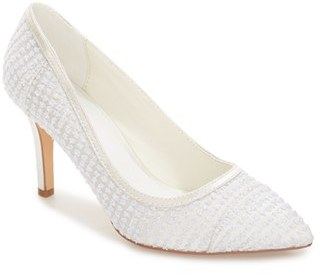 Women's Menbur Juana Embellished Pointy Toe Pump $114.95 thestylecure.com