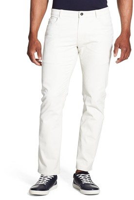 Van Heusen Men's Slim-Fit Stretch Twill Five-Pocket Chino Pants