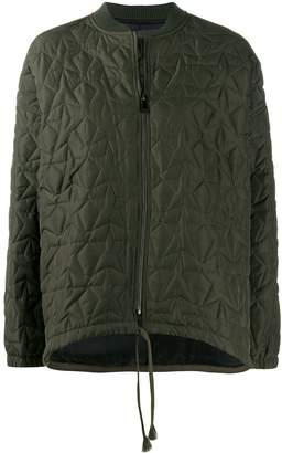 8pm Military Quilted Bomber Jacket