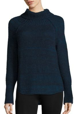 Brochu Walker Newton Alpaca Funnelneck Sweater $388 thestylecure.com