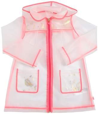 Billieblush Transparent Raincoat With Sequins