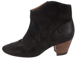 Isabel Marant Dicker Suede Ankle Boots Dicker Suede Ankle Boots