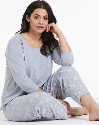 Pretty Secrets Cotton Blend 3/4 Sleeve Pyjama Set