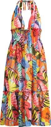 Ralph Lauren Floral Cotton Dress Cover-Up
