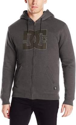 DC Men's Star Sherpa Zip Sweatshirt