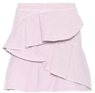 Etoile Isabel Marant Isabel Marant, Étoile Coati cotton miniskirt