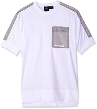 Armani Exchange A|X Men's Scoop Neck Logo Tee