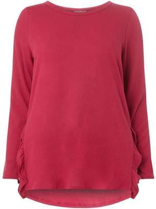 Dorothy Perkins Womens **Juna Rose Curve Pink Loose Blouse