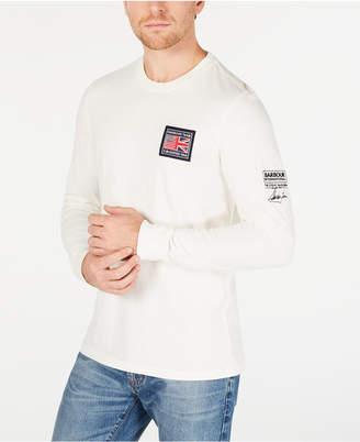 Barbour International Steve McQueen Men Long-Sleeve Team T-Shirt