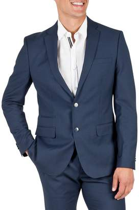 Kenneth Cole Reaction Plaid Slim-Fit Suit Jacket