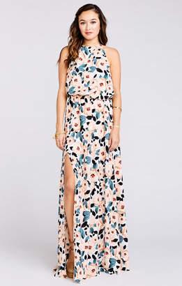 Show Me Your Mumu Heather Halter Dress ~ Steel Magnolia