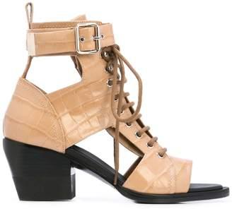 Chloé lace-up sandals