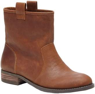 Sole Society Slip-on Booties - Natasha