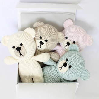 attic Hand Crafted Baby First Teddy Bear