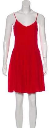 Piamita Silk Mini Dress