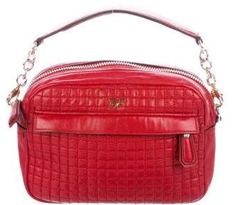 Diane von Furstenberg Milo Quilted Mini Leather Crossbody Bag