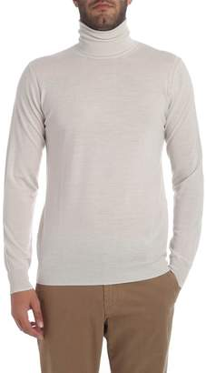 Paolo Pecora Beige Turtle Neck Sweater