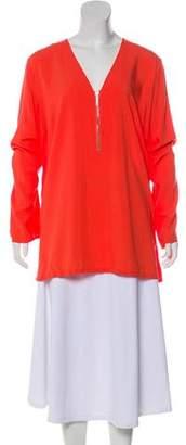 MICHAEL Michael Kors Long-Sleeve V-Neck Tunic