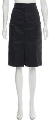 Calvin Klein Vented Knee-Length Skirt