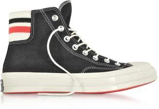 Converse Limited Edition Chuck 70 Retro Stripe High Top Black Sneakers