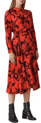 Whistles Esme Mackintosh-Print Dress