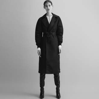 Maje Trench coat with side zips