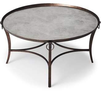 Butler Specialty Company Butler Smoke and Mirrors Copper-Finish Cocktail Table