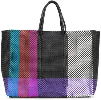 Truss Nyc colour-block shopper tote