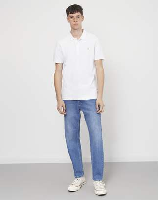 Farah Blaney Short Sleeve Polo Shirt White