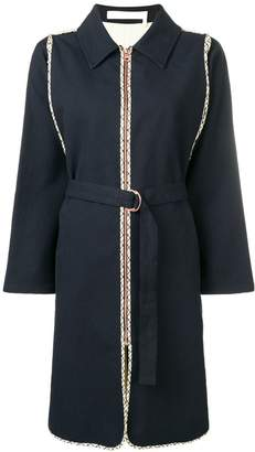See by Chloe belted coat
