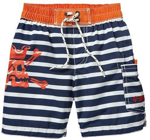 Gap Striped pirate swim trunks