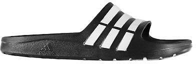 Kids Duramo Junior Sliders Pool Shoes Strap Stripe