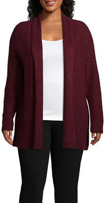 Liz Claiborne WEEKEND  Weekend Cozy Cardigan - Plus