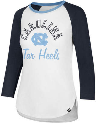 '47 Women North Carolina Tar Heels Script Splitter Raglan T-Shirt