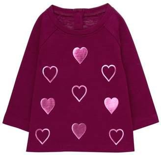 Gymboree Sparkle Heart Top