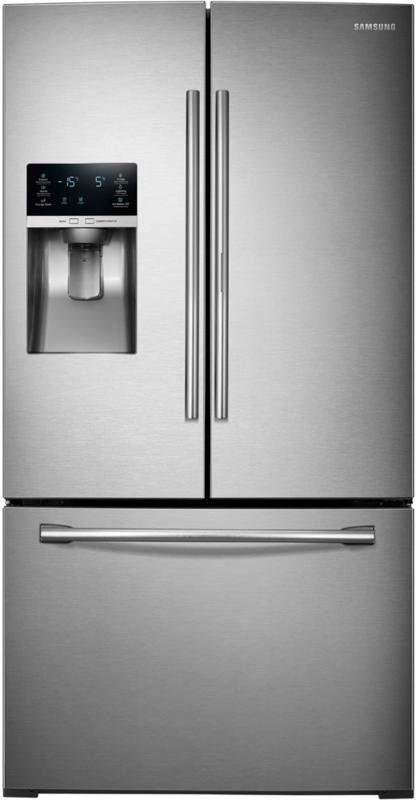 Samsung 28 Cu. Ft. French Door Refrigerator with Food ShowCase Fridge Door - Stainless Steel