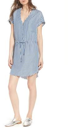 Paige Haidee Stripe Shift Dress