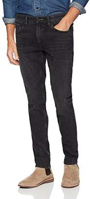 Denim Garage Classics Men's Slim-Fit Stretch Jean 40X36 Dark Grey