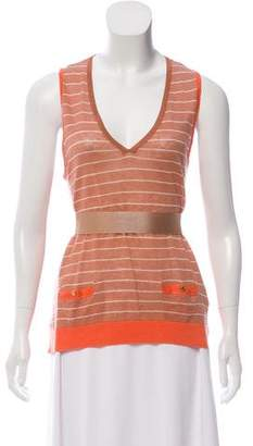 Hoss Intropia Sleeveless Striped Top