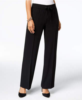 INC International Concepts I.n.c. Shadow-Stripe Wide-Leg Pants, Created for Macy's