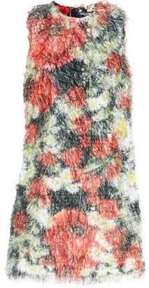 Dolce & Gabbana Printed Fil Coupé Mini Dress